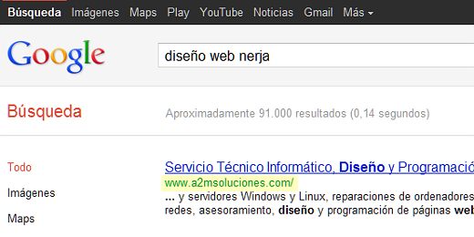captura optimización web para buscadores